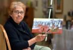 Louise Belley artiste peintre dans Charlevoix