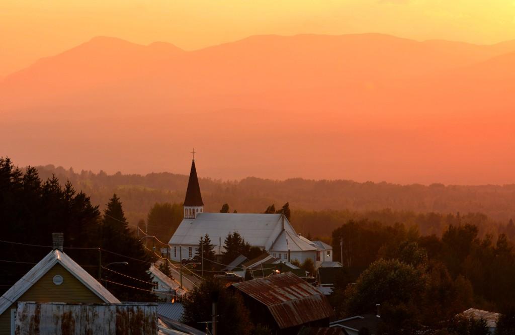 Coucher de soleil au village mon charlevoix - L heure du coucher du soleil aujourd hui ...