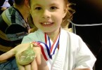 Alyssa Girard, fière de sa participation