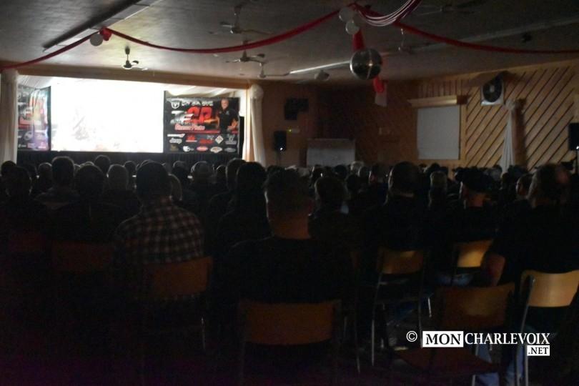 Les spectateurs très attentifs pour la présentation du film 2016