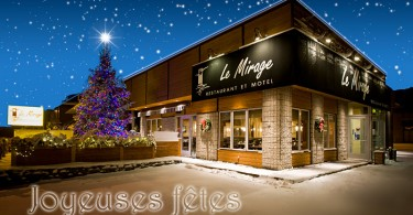 Mirage noel 2010 avec étoiles