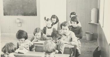 École du rang St-Jean-Baptiste, St-Urbain, Fonds Palardy, Musée Chx