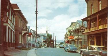 Une partie de la rue principale