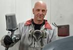 Tony Tremblay, peintre automobile