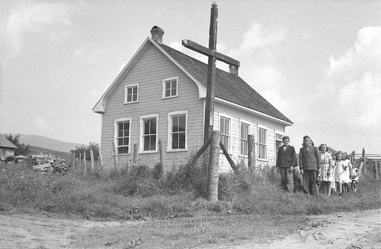 École de rang de Saint-Fidèle
