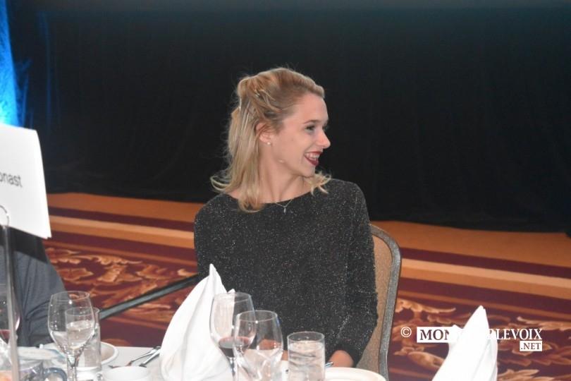 Marie-Pier Chouinard, médaillée olympique