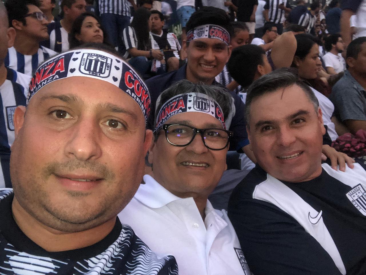 Aldo au Pérou avec sa famille