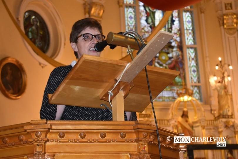 Marlène, présidente du comité