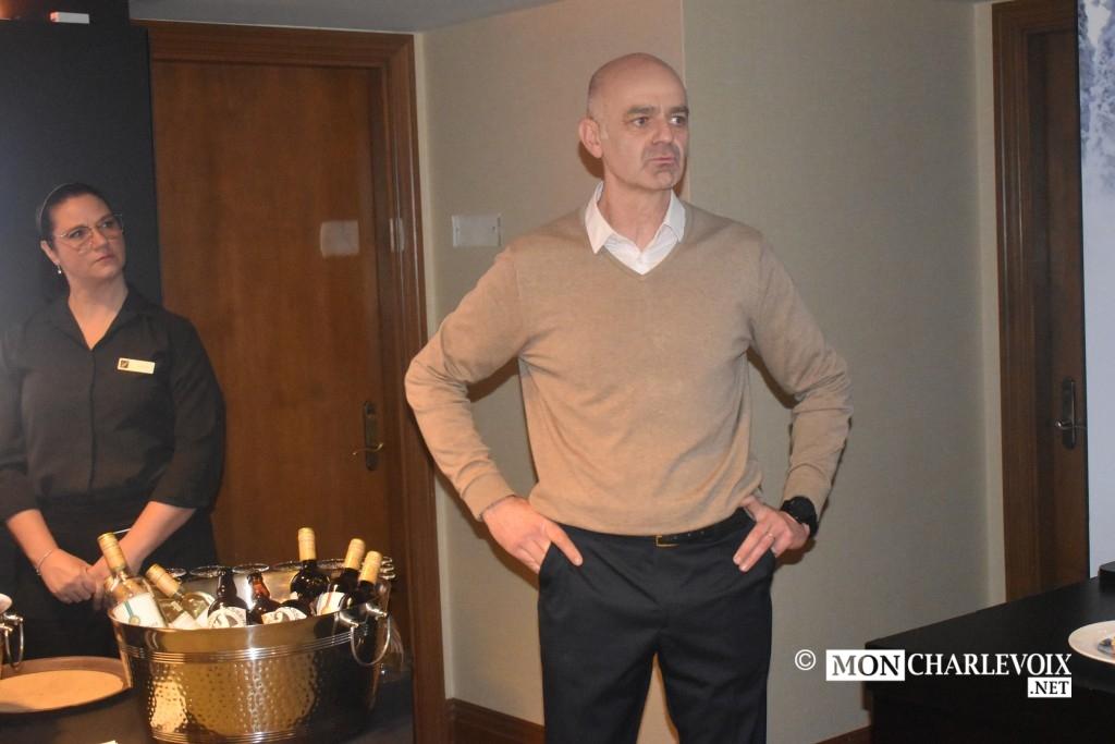 Pierre Challier co-président Nord Expé