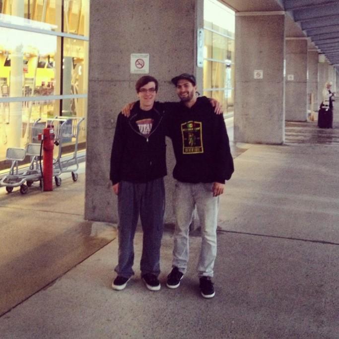 Philippe et son frère Justin chef au Colorado