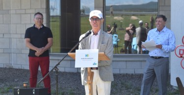 Richard Dubé, donateur
