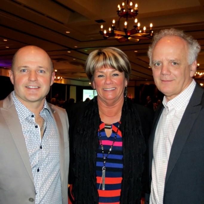 Avec Damien Girard et Dominique Labbé