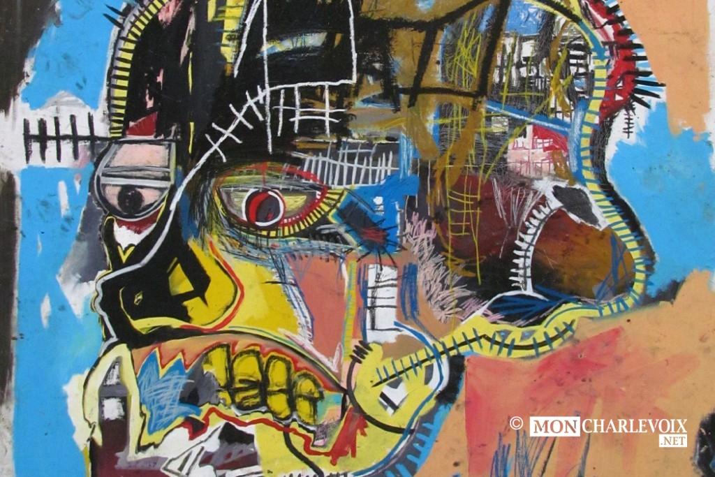 Oeuvre de Jean-Michel Basquiat New-York Graffeur décédé à 27 ans