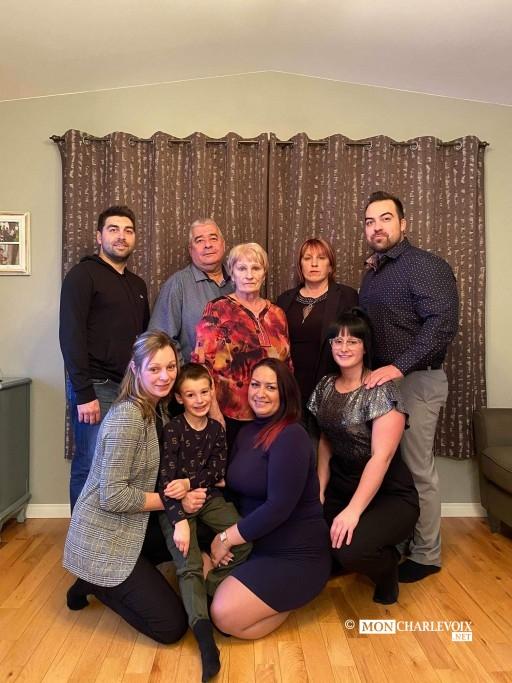 La famille Bilodeau Girard